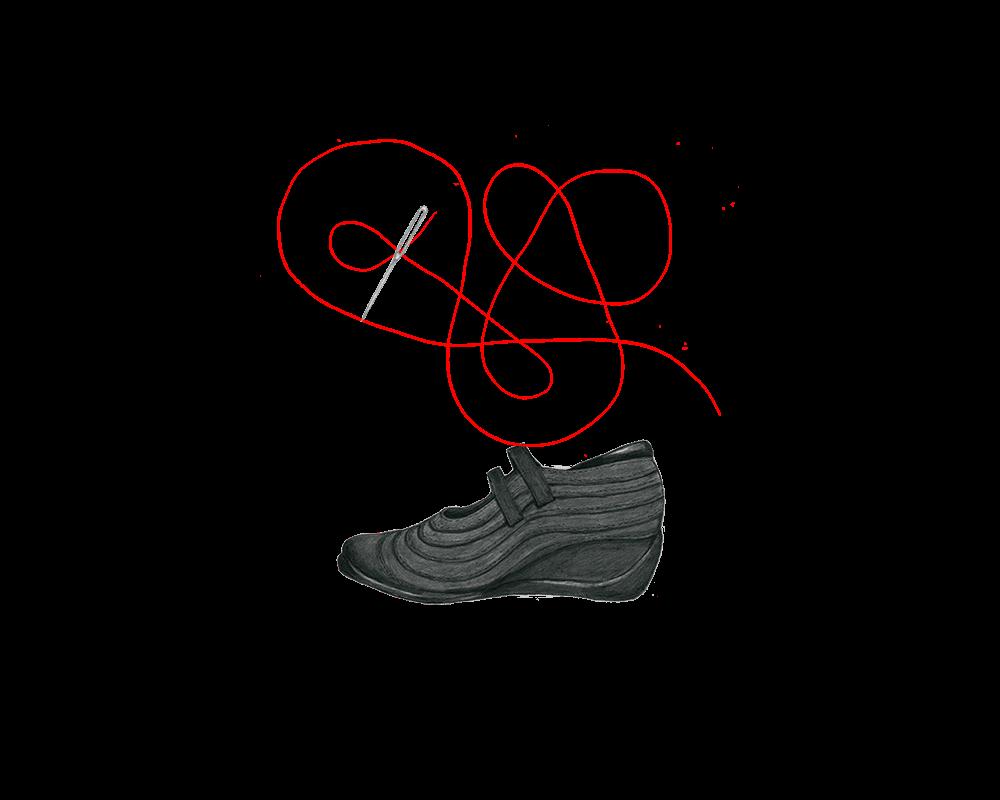 株式会社モード・ナカムラ 靴のイラスト