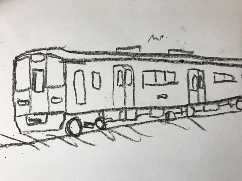 電車 イラスト