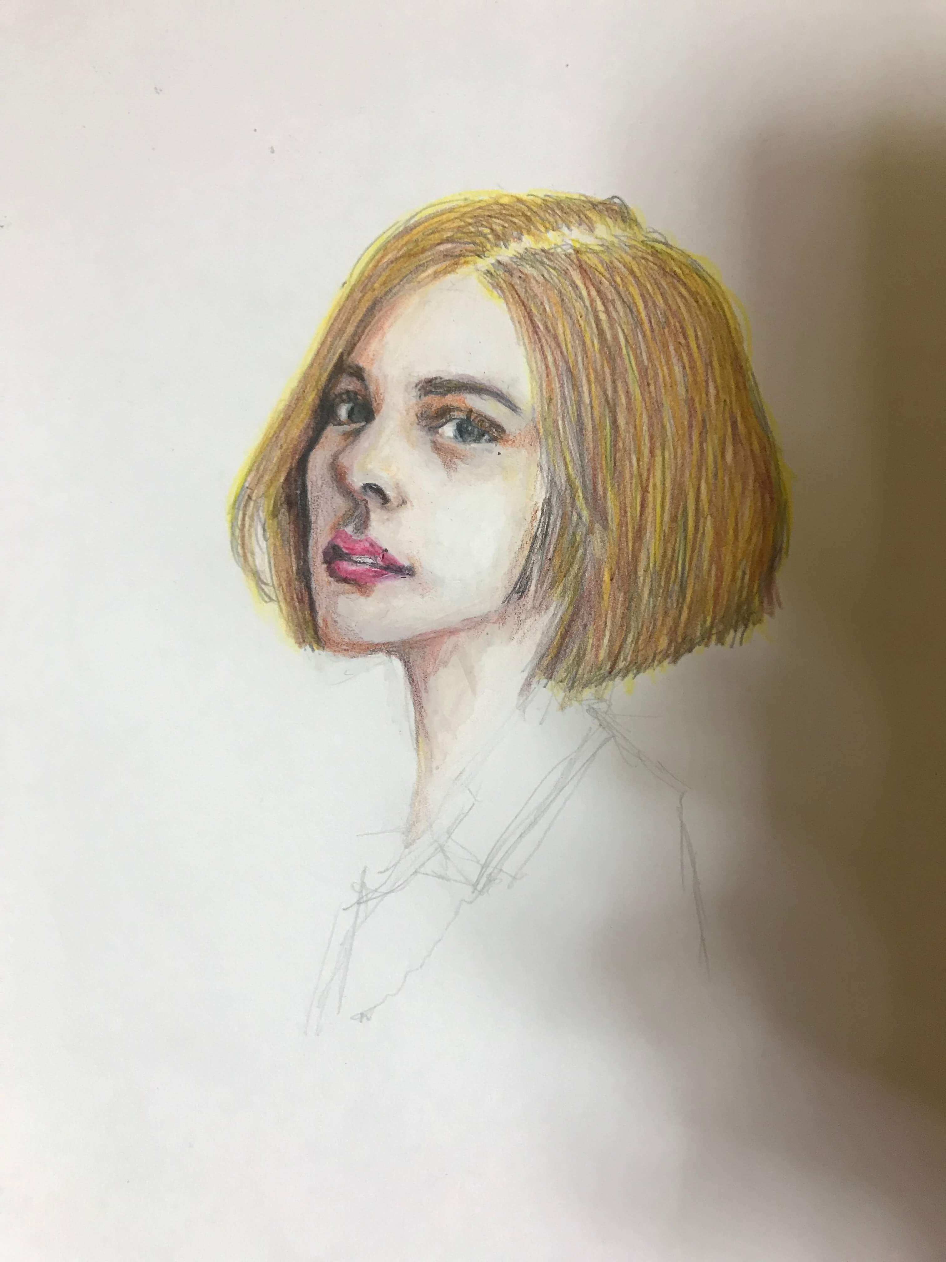 似顔絵 イラスト