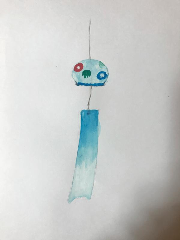 風鈴 イラストレーション