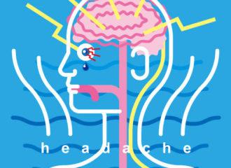 頭痛 イラストレーション