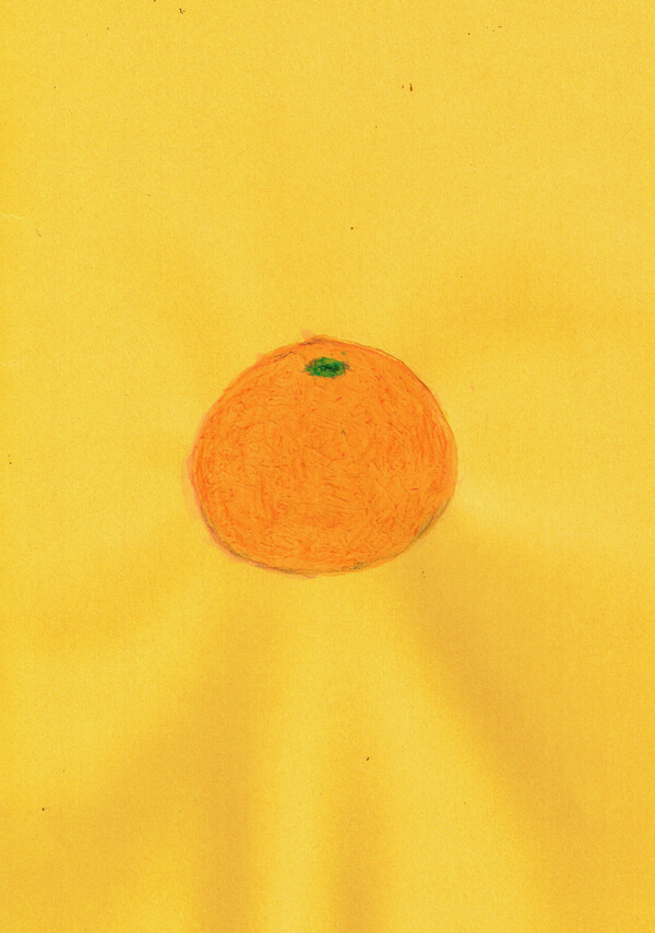 オレンジ イラスト