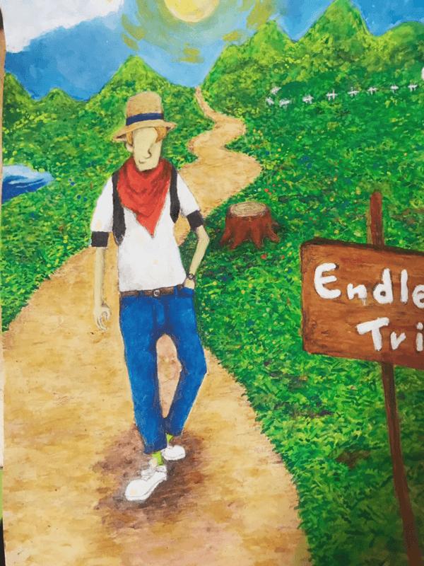 endless trip イラスト