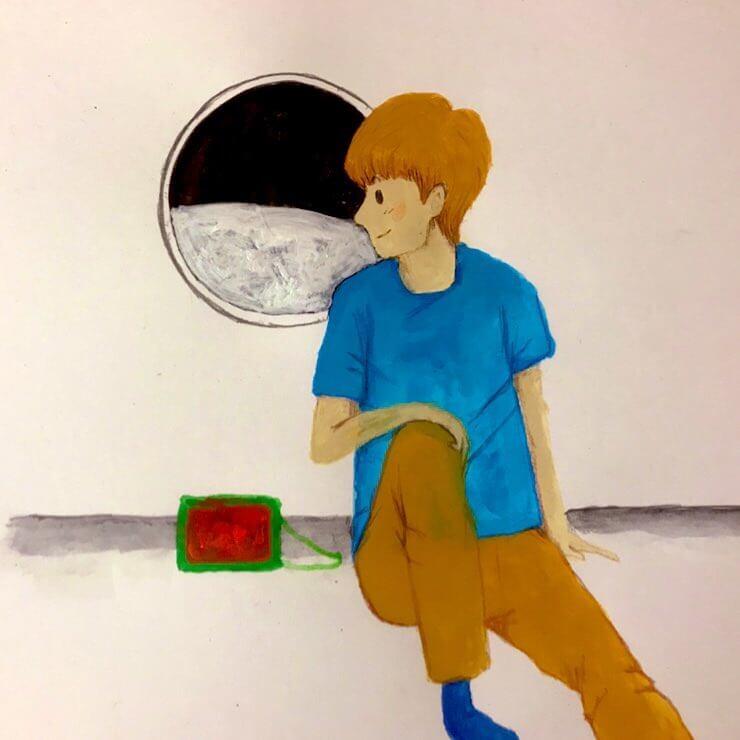 少年のイラスト