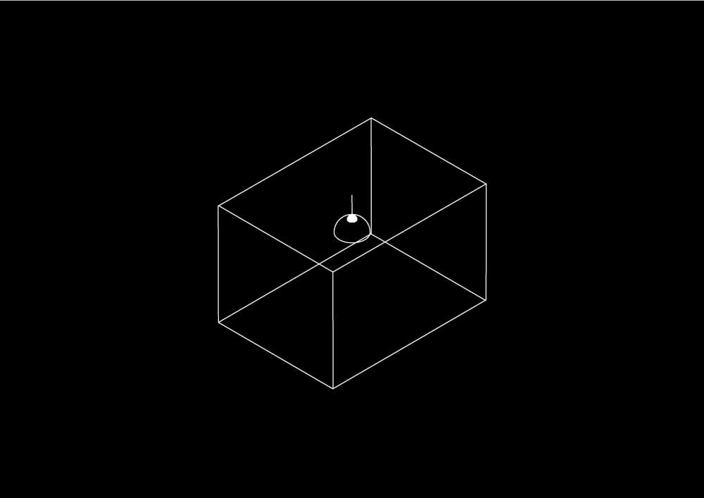 空間のイラスト