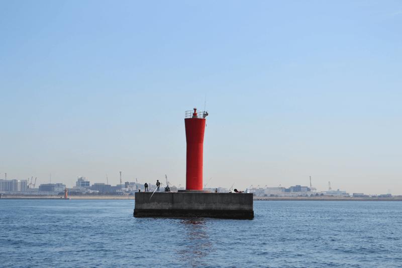 神戸 灯台の写真