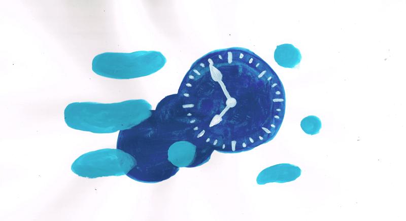 時計 イラストレーション