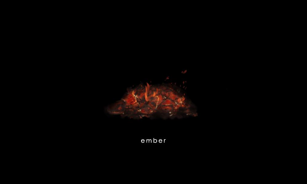 残り火 イラスト