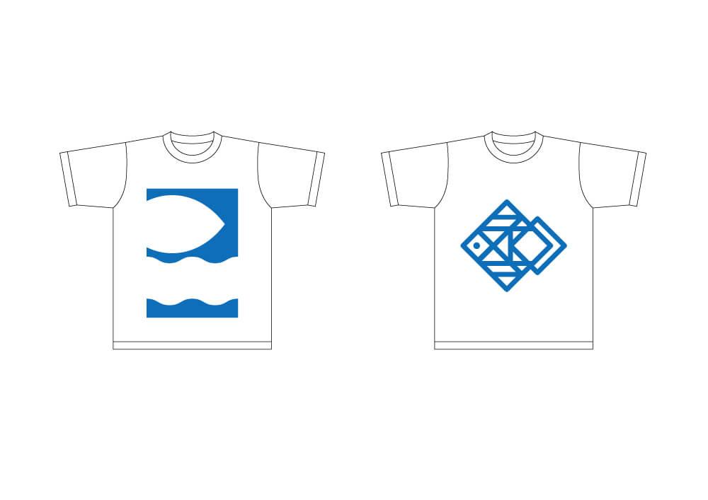 川中そろばん教室 Tシャツ デザイン