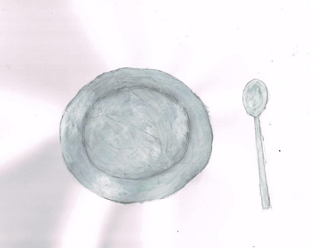銀食器 イラスト
