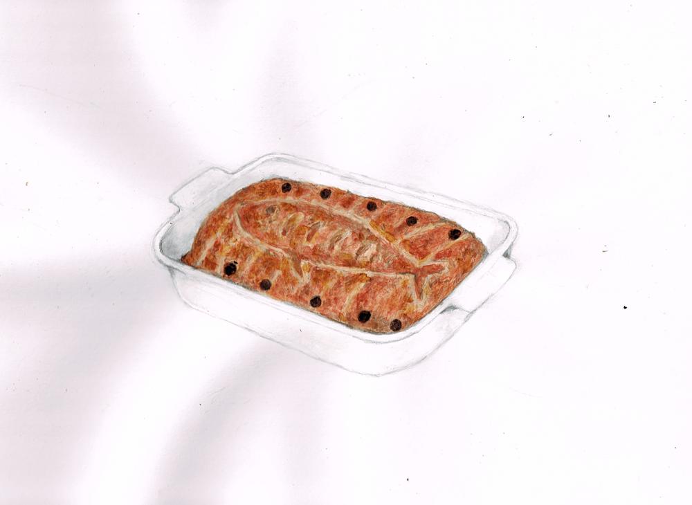 ニシンのパイ イラスト