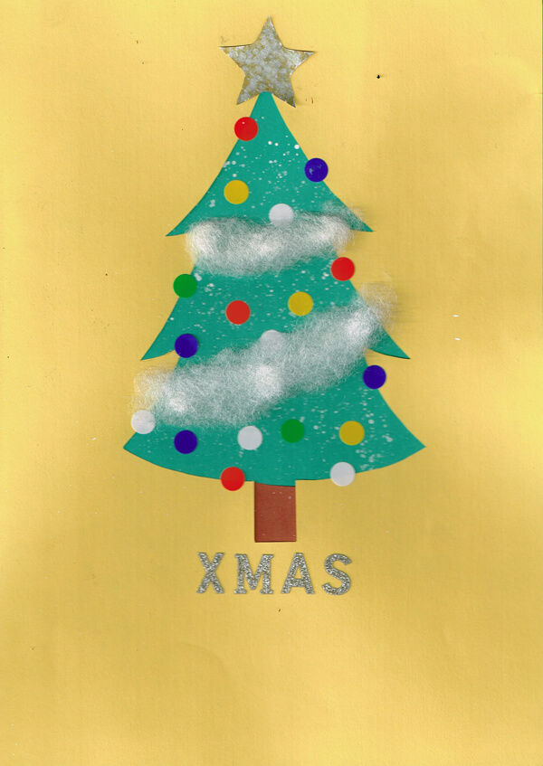 クリスマスツリー イラスト