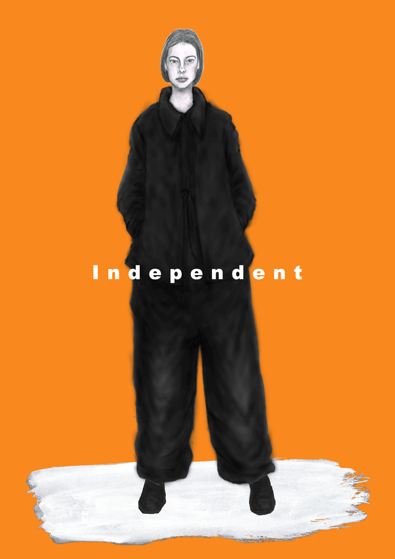 independent women グラフィック