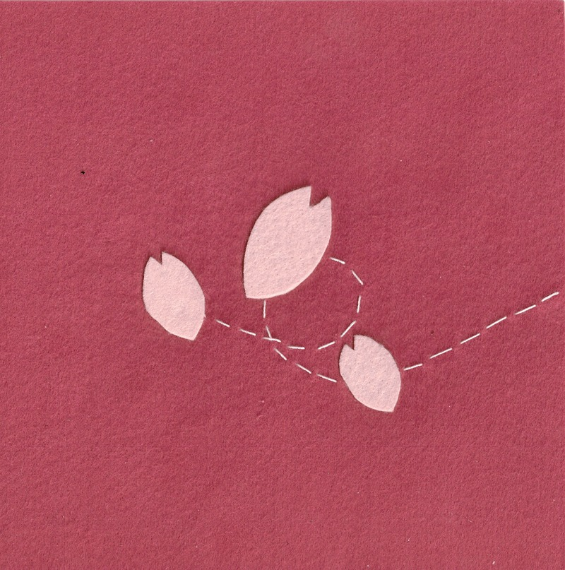ソーイング 桜 イラスト