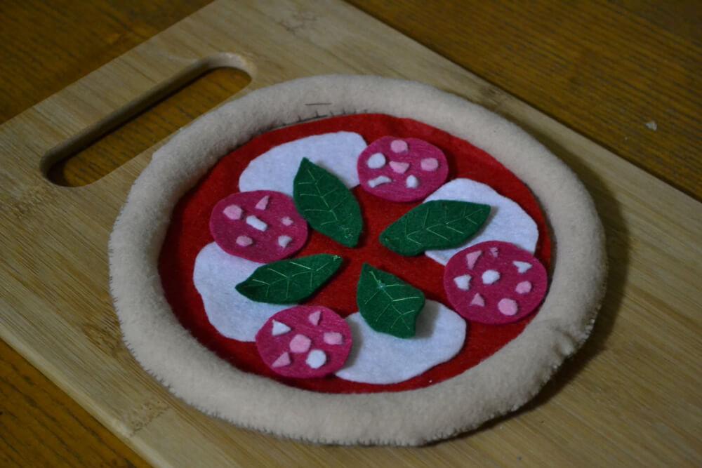 ピザ 裁縫 クラフト