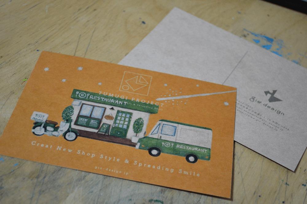 TUMUGI PROJECT(ツムギプロジェクト)ポストカード