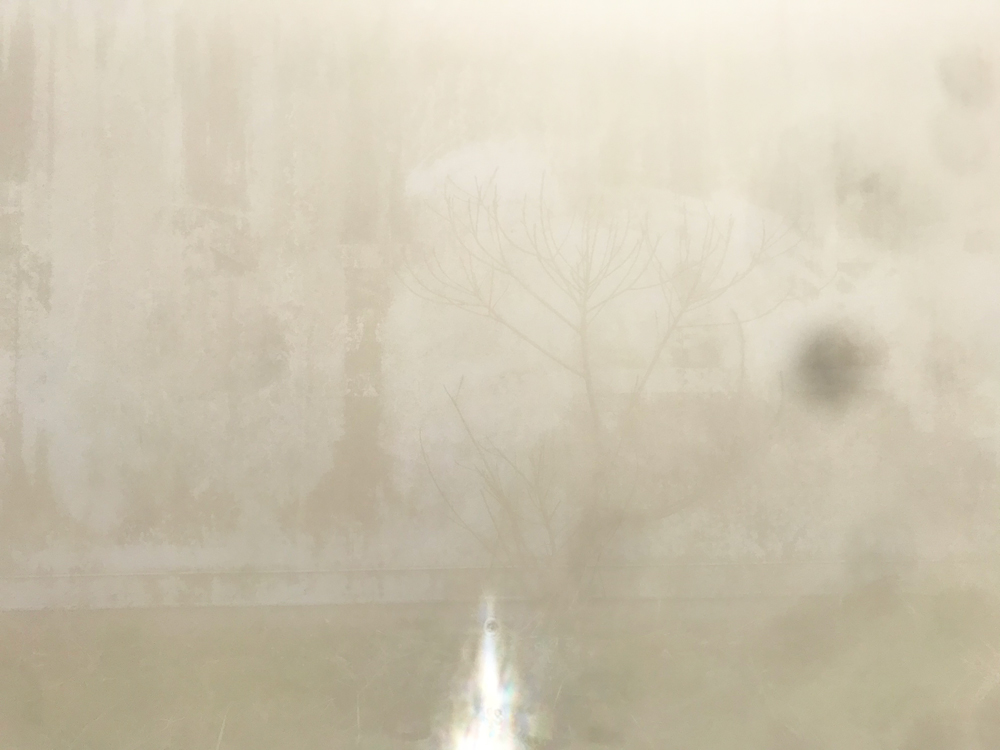 コンテナの壁 写真