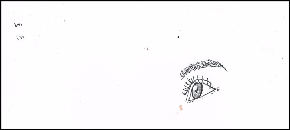 目 イラスト