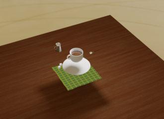 コーヒーカップ 3d イラスト