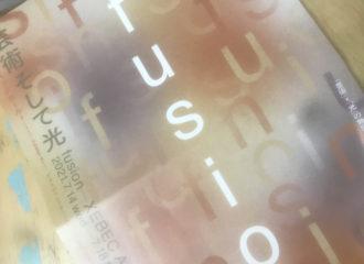 fusion 「芸術そして光」 パンフ